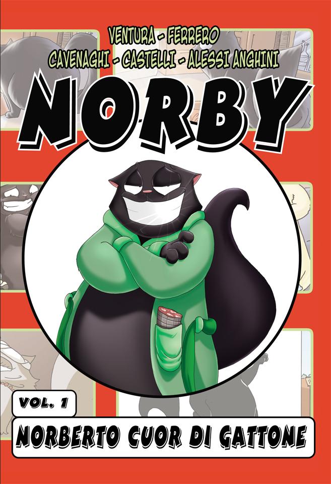 Norberto Cuor di Gattone Cover