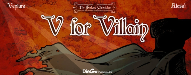 testata V for Villain