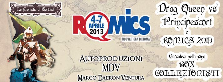 Immagine Evento Romics 2013 Drag