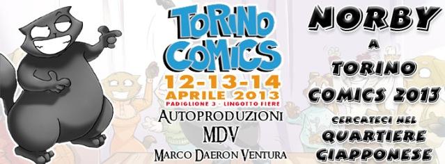 Immagine Evento Torino Comics 2013 Norby