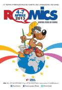 Romics 2013 manifesto ufficiale 2013