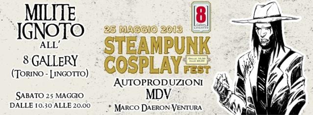 Immagine Evento Steampunk 8 Gallery 2013 Milite Ignoto