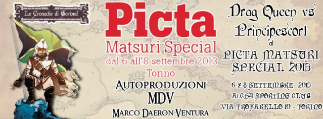 Immagine Evento Picta 2013 Drag