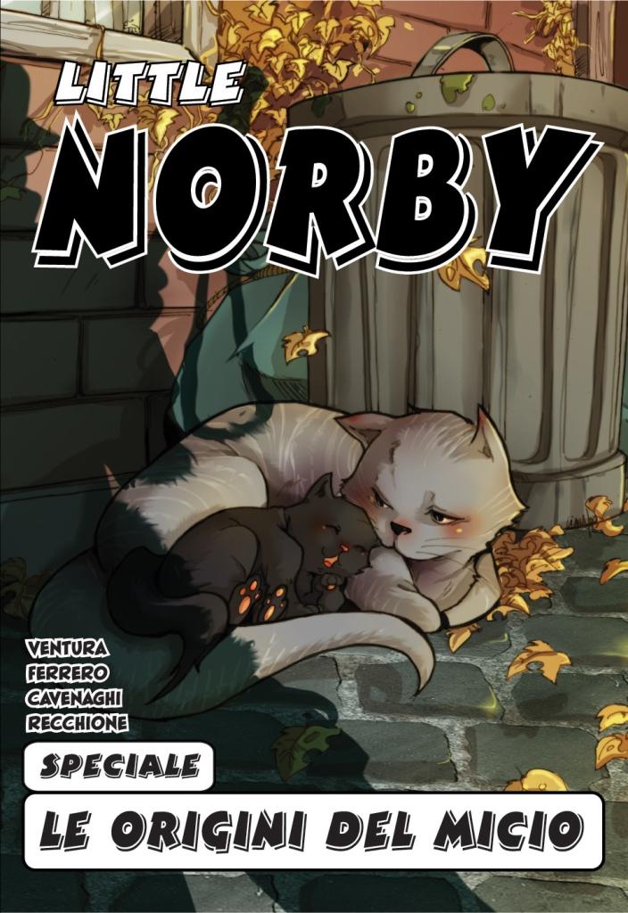 Norby - Le Origini del Micio - Cover
