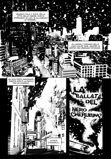 Shadows - La Ballata del Nero Cherubino tav01