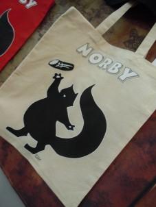 Shopper Norby - 5 € (colori rimasti bianco panna, con un disegno differente)