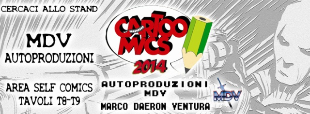 Immagine Evento Cartoomics 2014 mdv