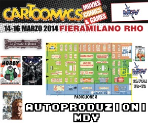 mappa cartoomics mdv
