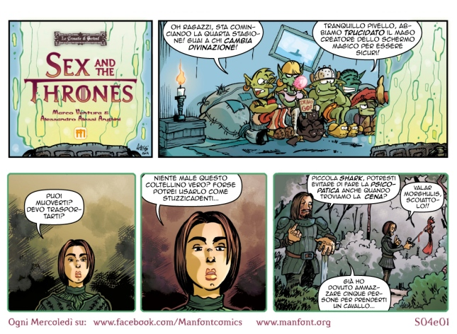 Sex and the Thrones - Quando il Trono di Spade diventa un webcomic