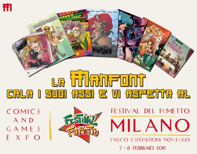 Festival del Fumetto 2015 Manfont
