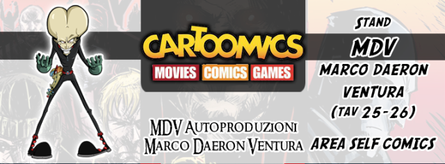 Immagine Evento Cartoomics 2015 MDV