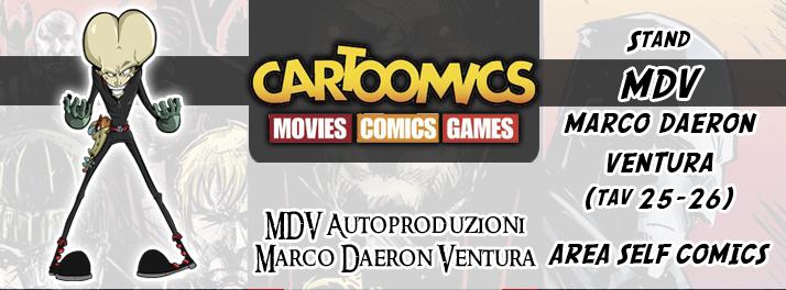 Immagine Evento Cartoomics 2015 MDV