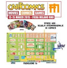 Mappa Cartoomics Manfont e MDV