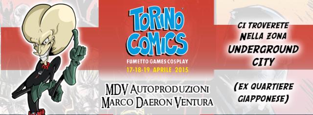 Immagine Evento ToComics 2015 MDV