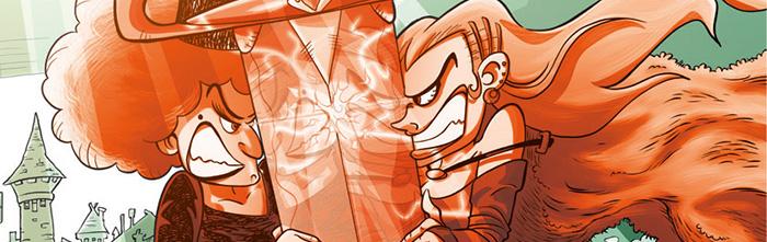 Ritagli cover comics DRAG